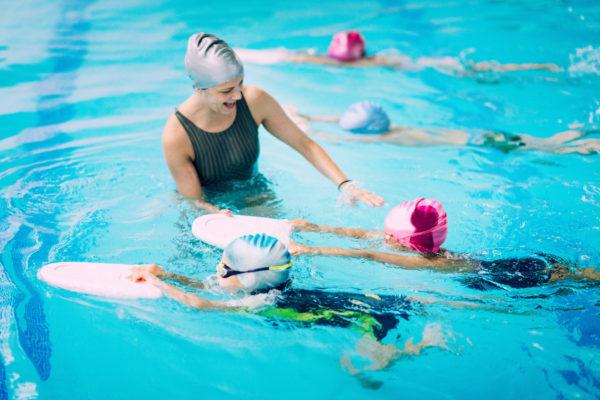 Folge-Schwimmkurs